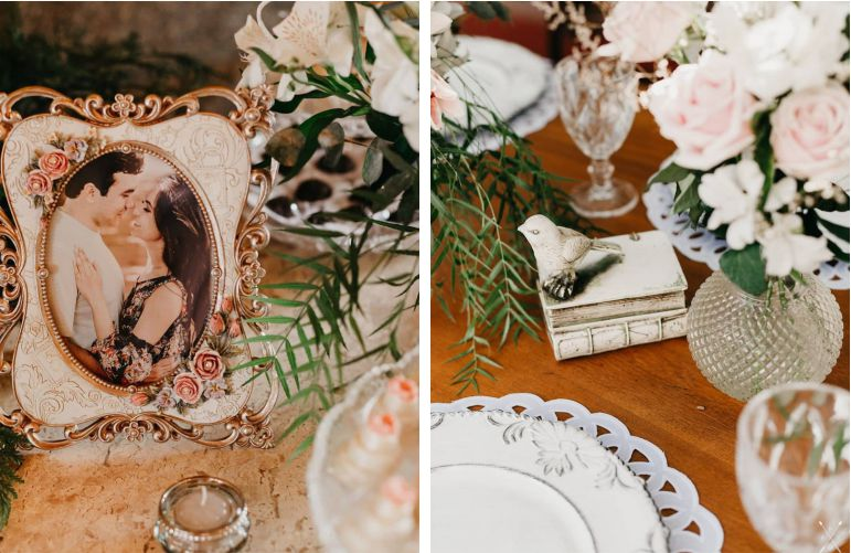 Decoração Vintage Mini Wedding Rústico