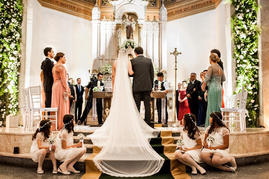 mini wedding na igreja