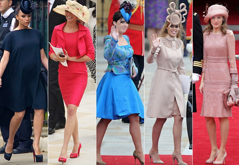 Chapéus e Fascinators no Casamento Real