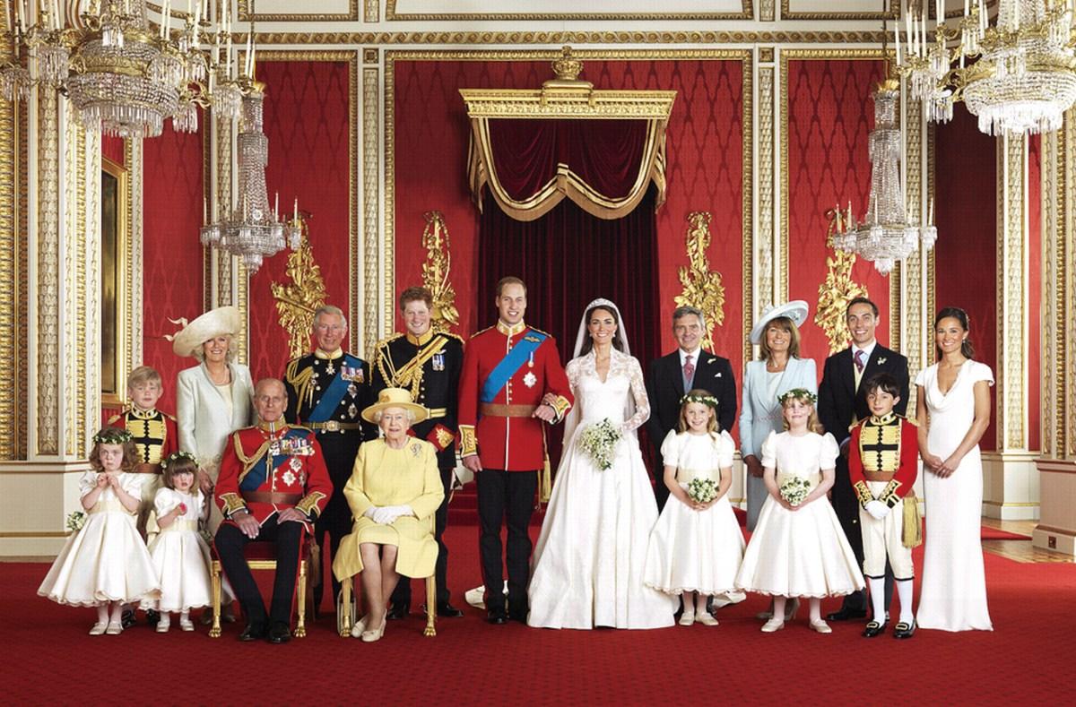 Foto Oficial da Família Real