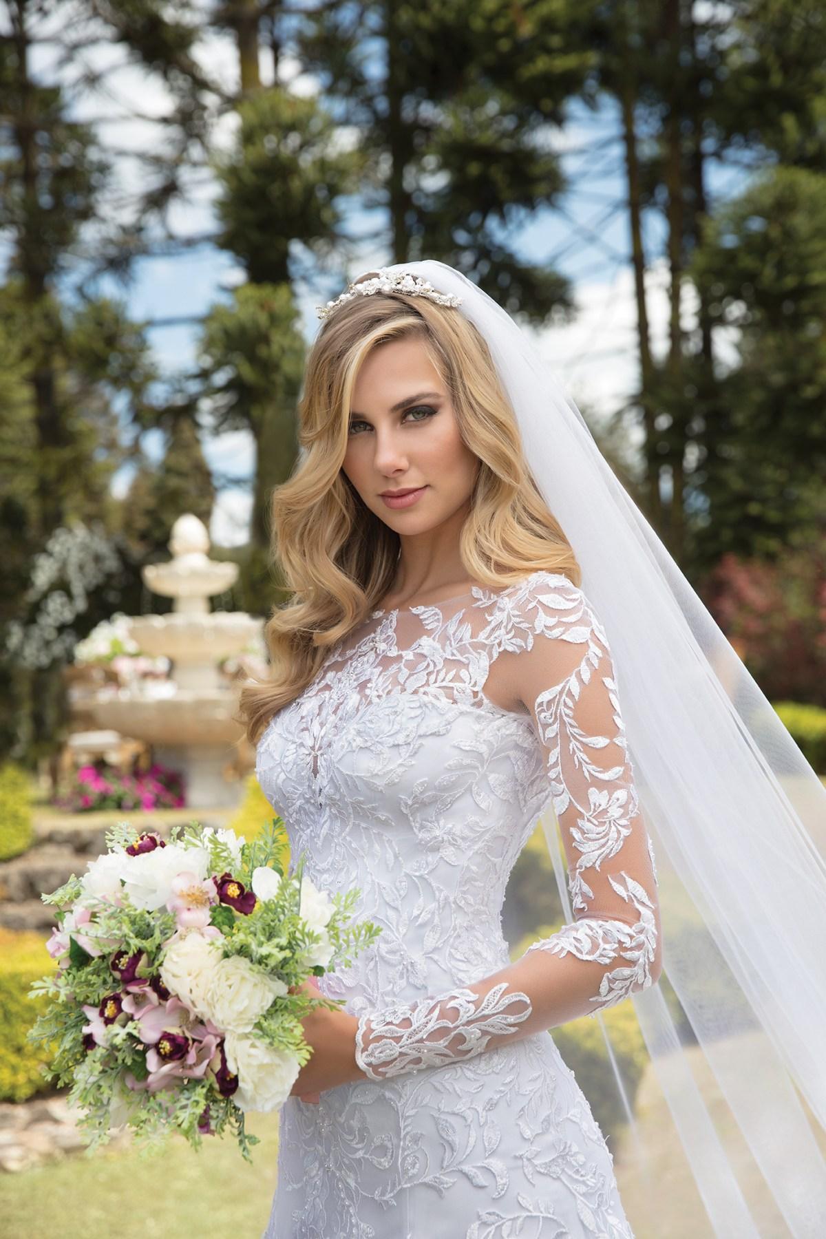 Inspirações para vestidos de noiva - Modelo Amarilis