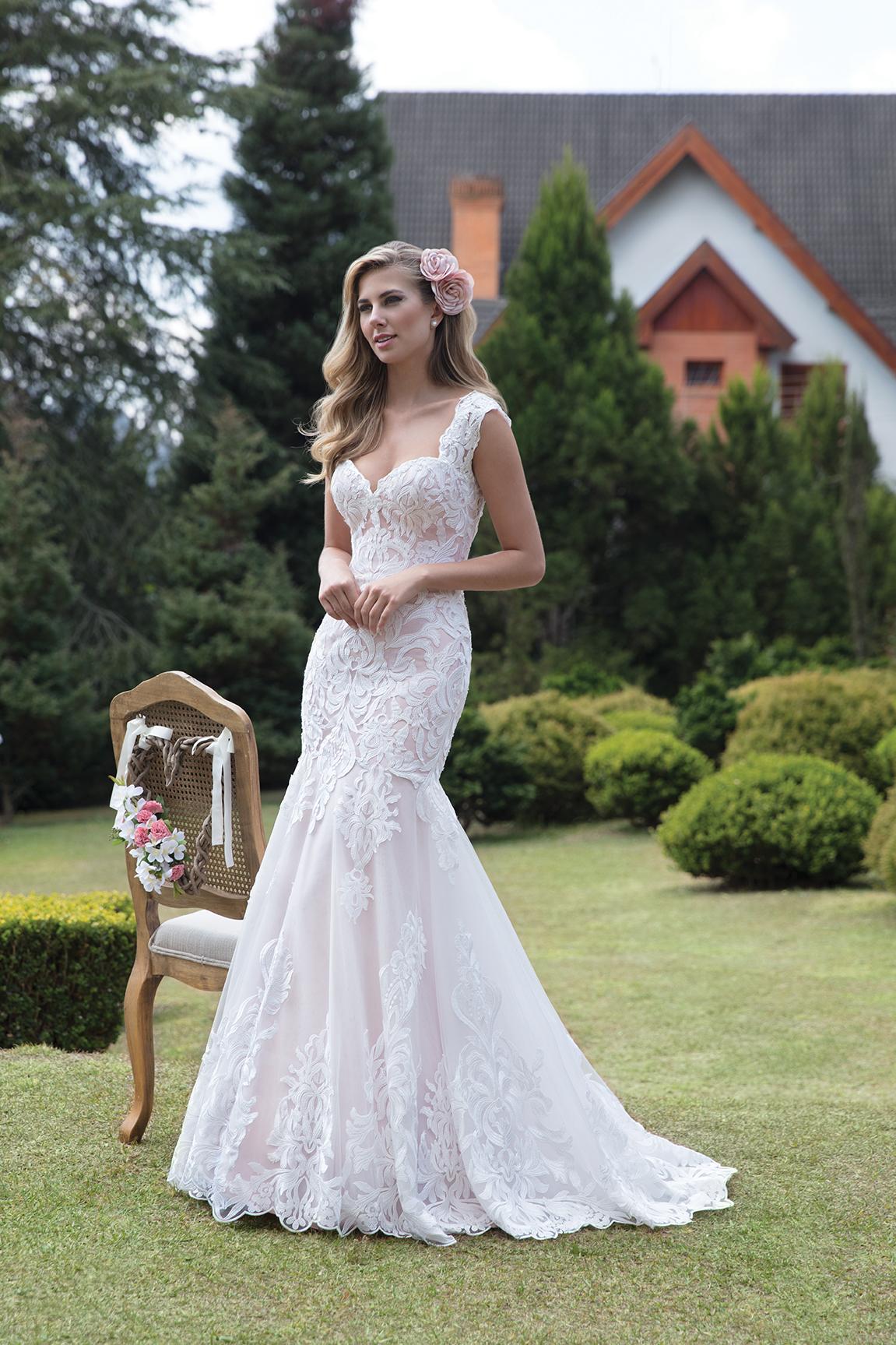 Inspirações para vestidos de noiva - Modelo Camélia