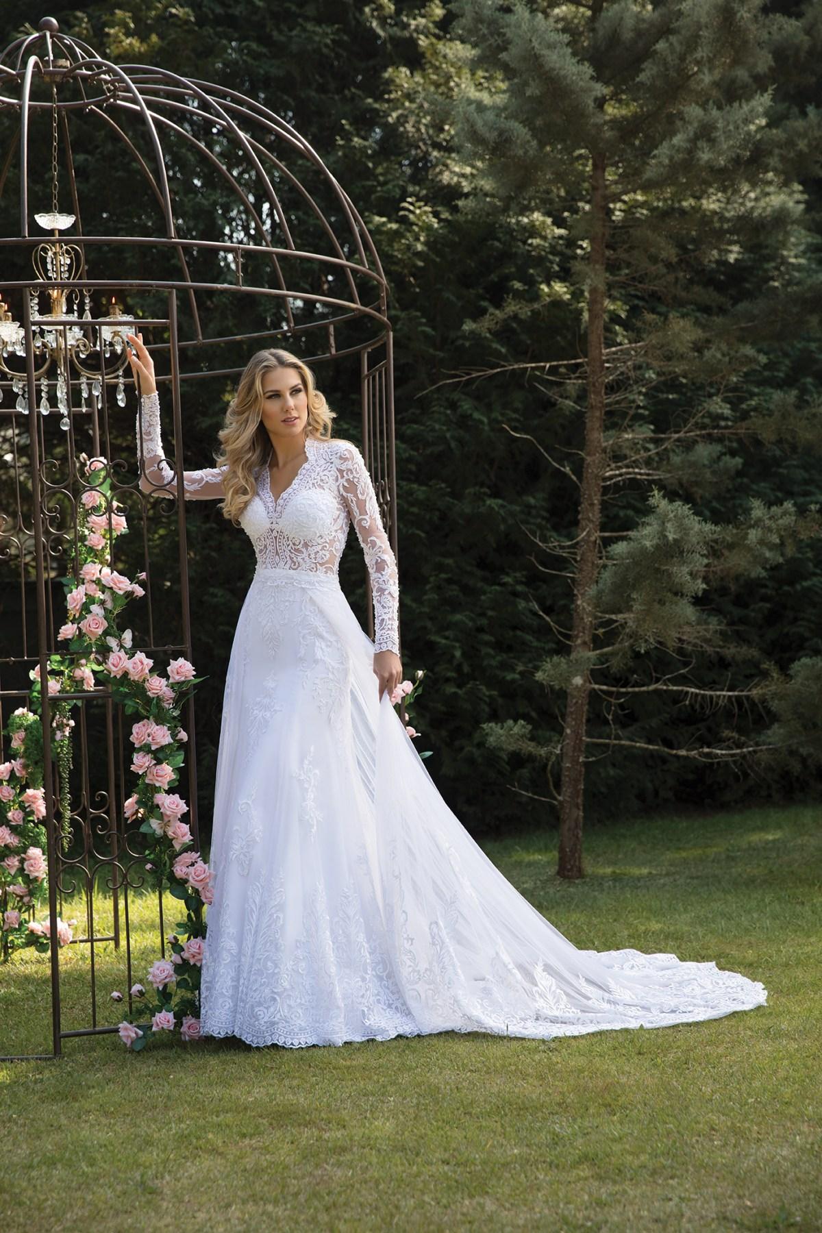 Inspirações para vestidos de noiva - Modelo Cravo