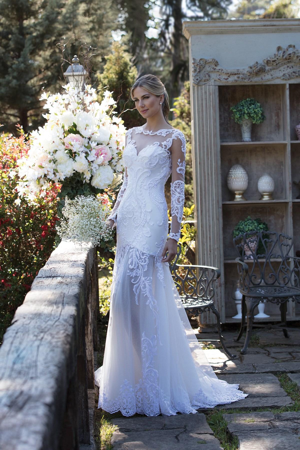 Inspirações para vestidos de noiva - Modelo Fresia