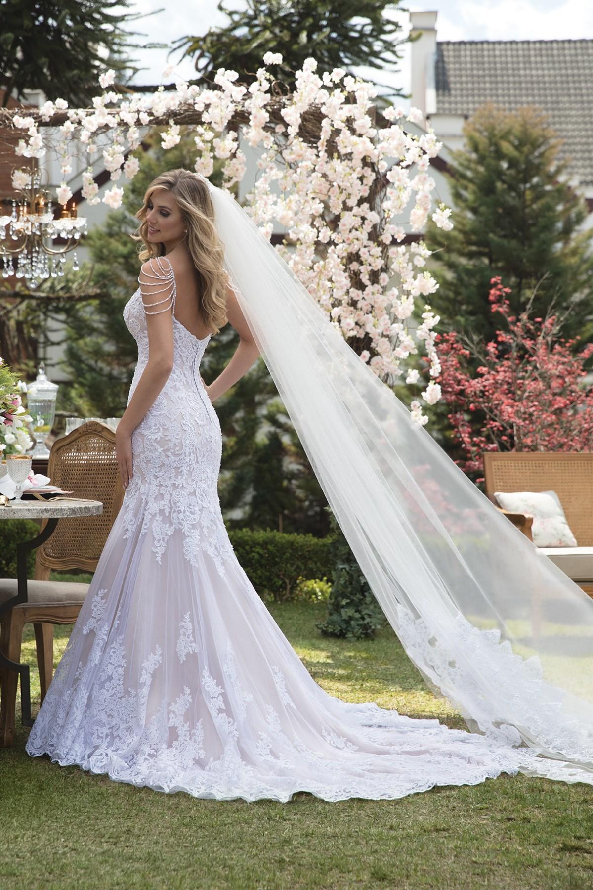 Inspirações para vestidos de noiva - Modelo Peonia