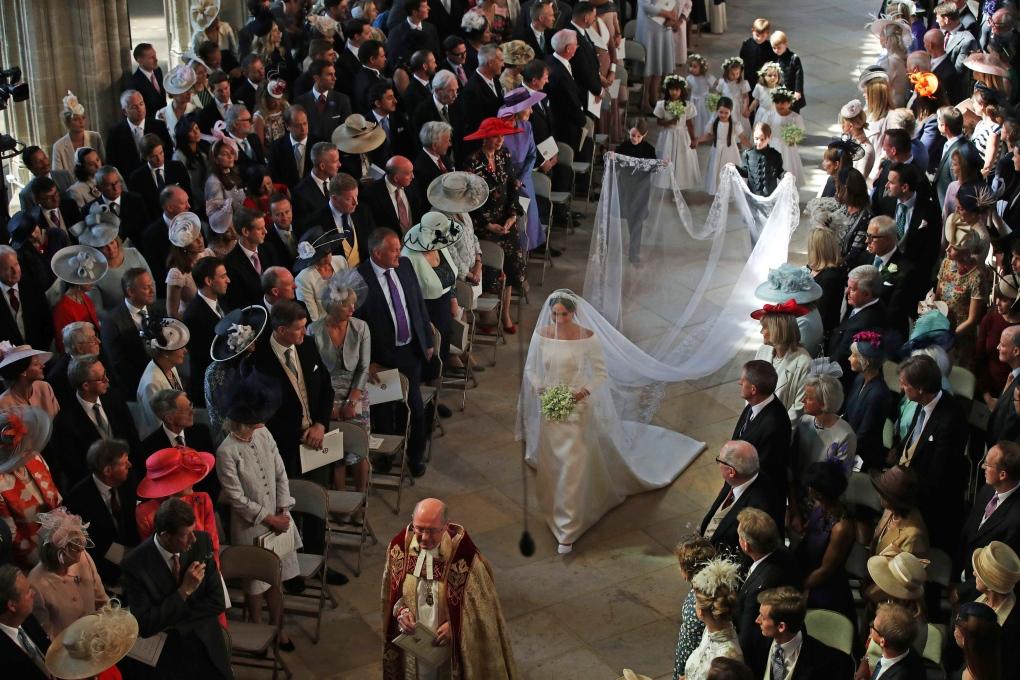Entrada no casamento
