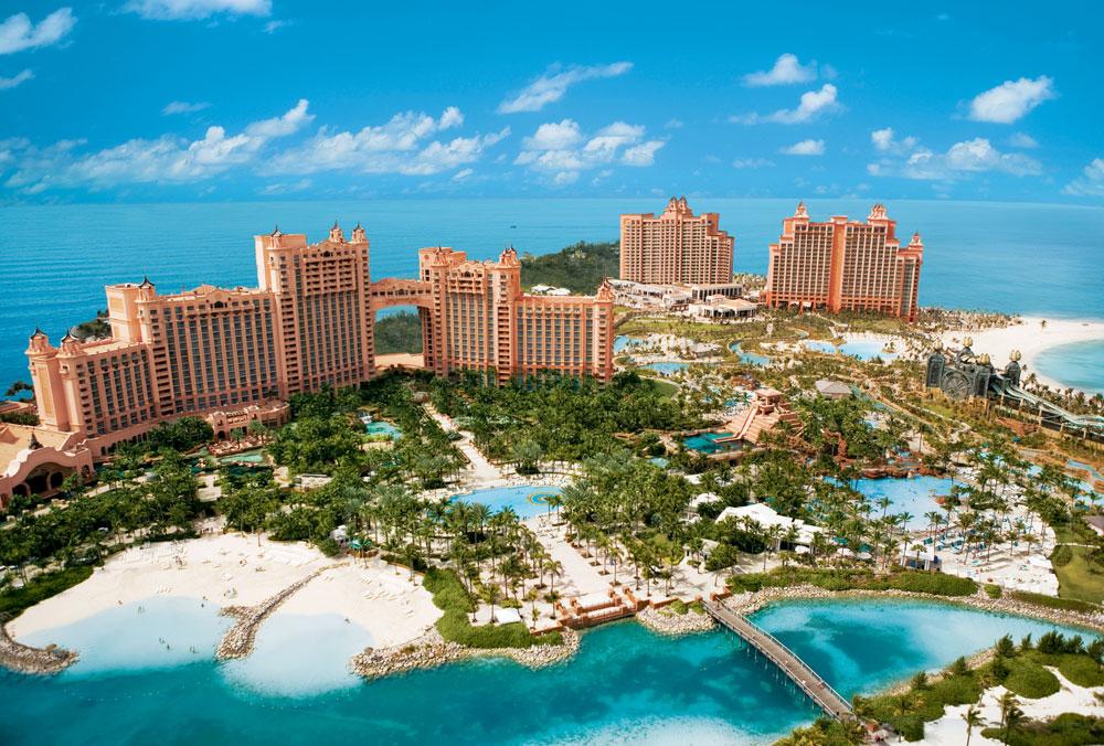 Lua de mel em Bahamas: Atlantis