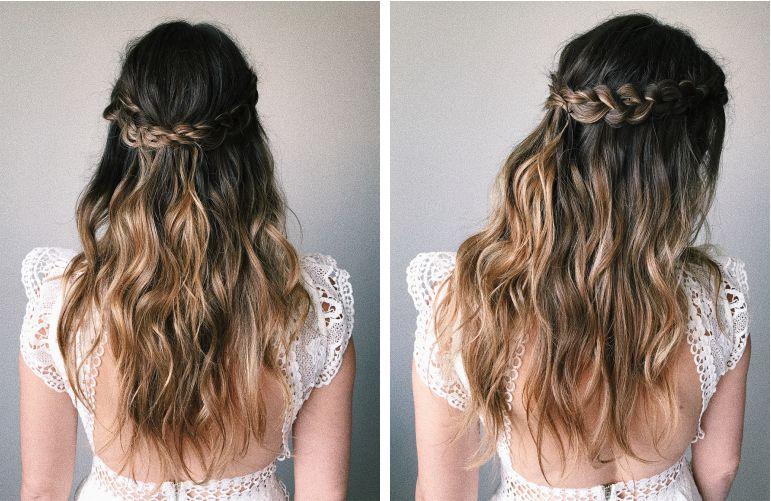 Tendências para penteado com trança | Penteado: Puntuale