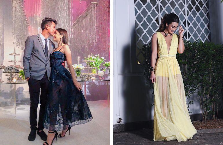 Vestidos das convidadas