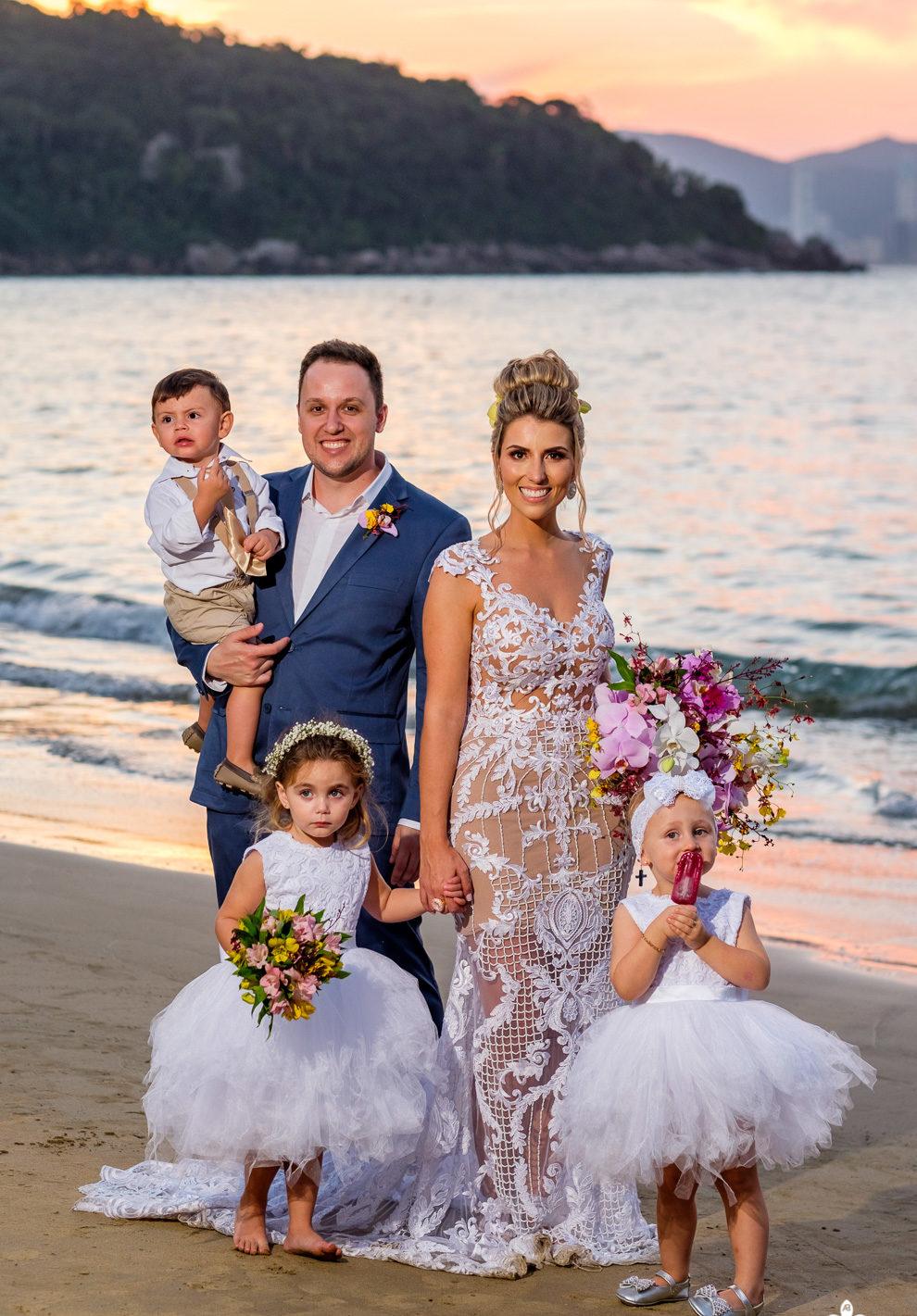 Destination Wedding em Balneário Camboriú: Sullen e Roberto