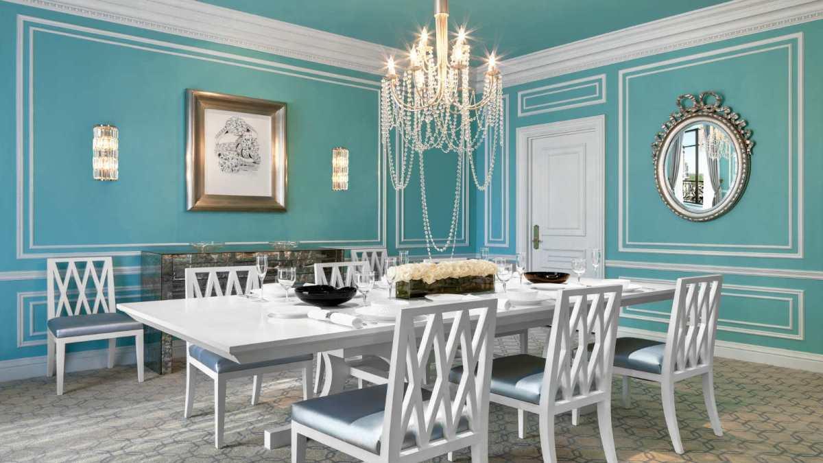 Tiffany dinning Room St. regis new york