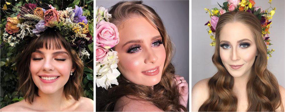 Maquiagem para casamento de dia