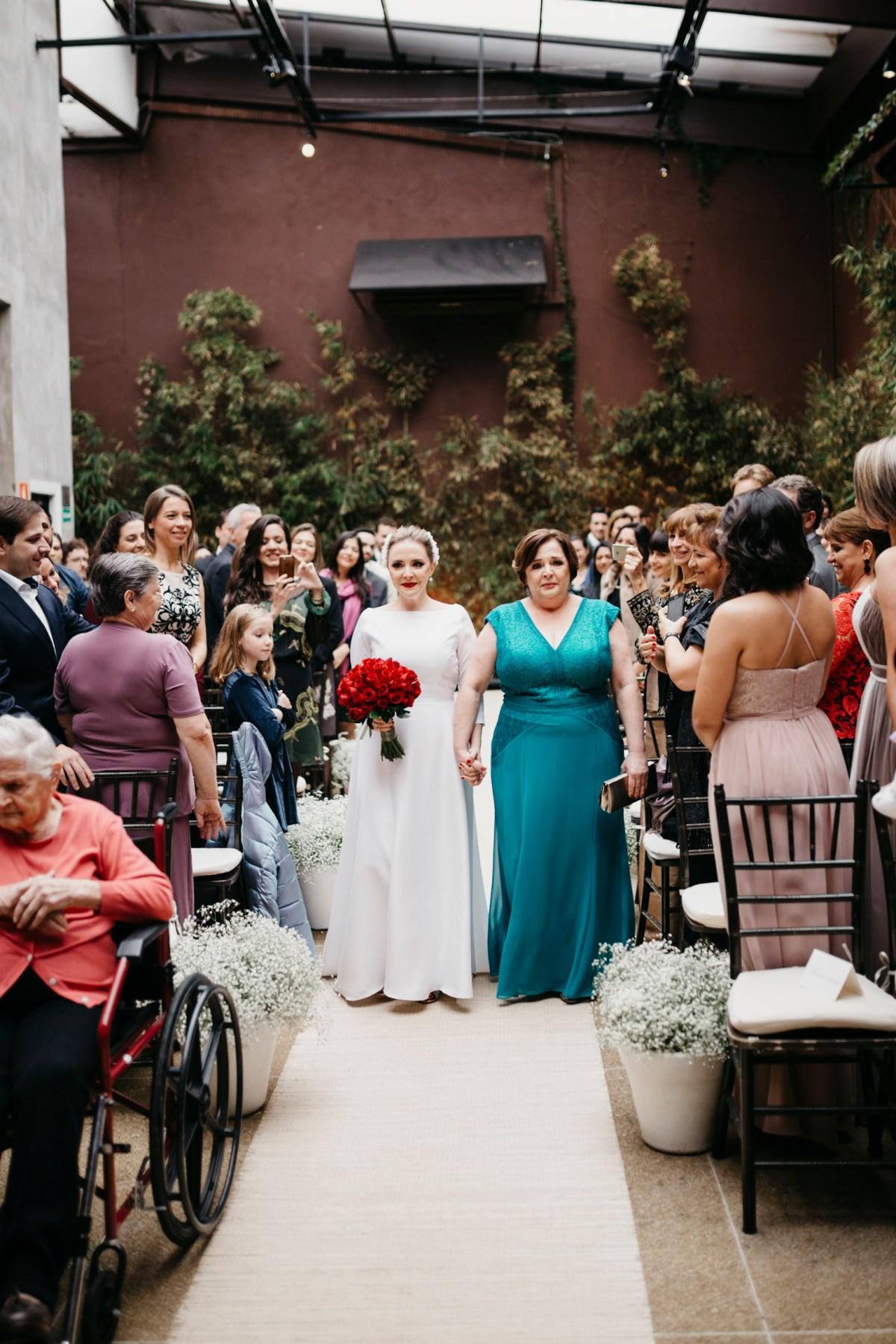 Casamento Clean: Carol e Ricardo   Foto: Thibault Barre
