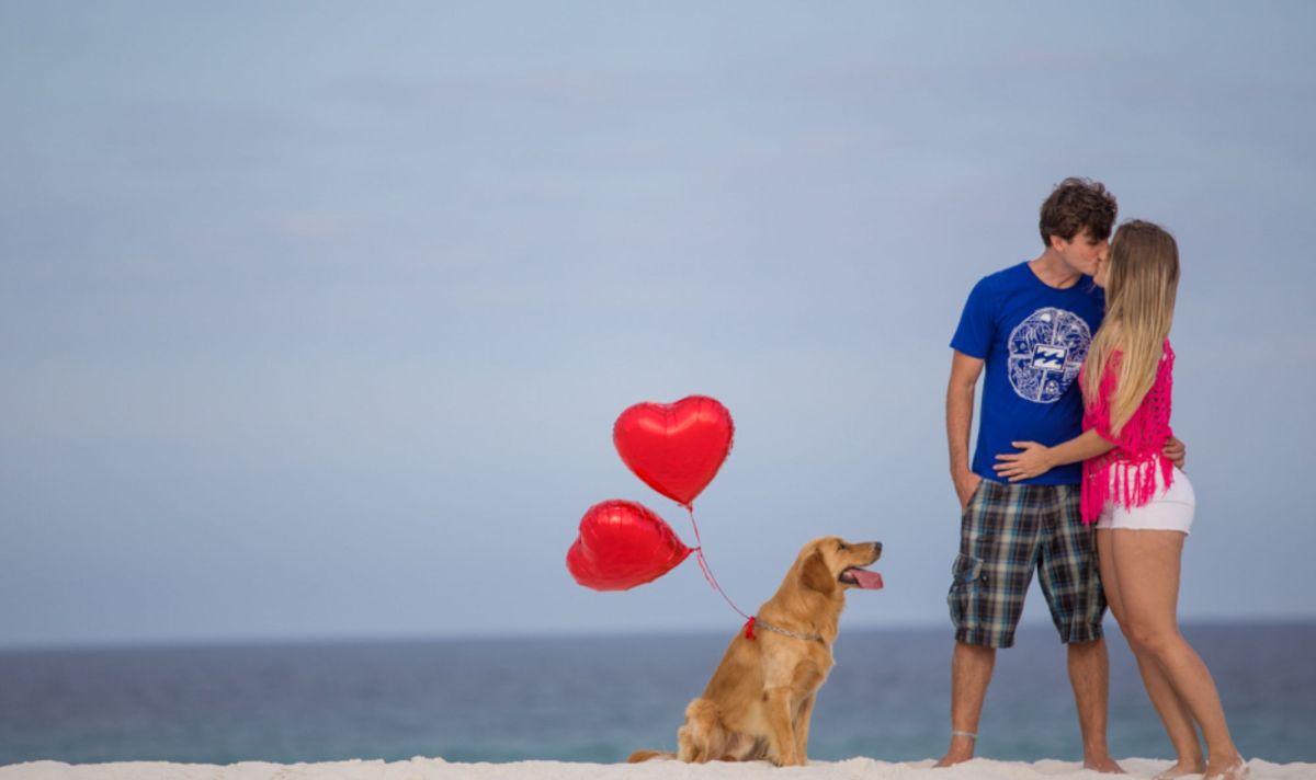 Ensaio pré casamento na praia