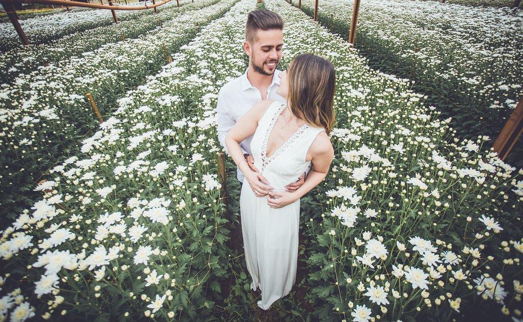 Ensaio de casamento em Holambra