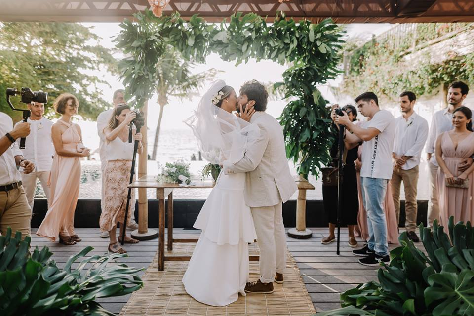 Decoração de casamento com costela de adão