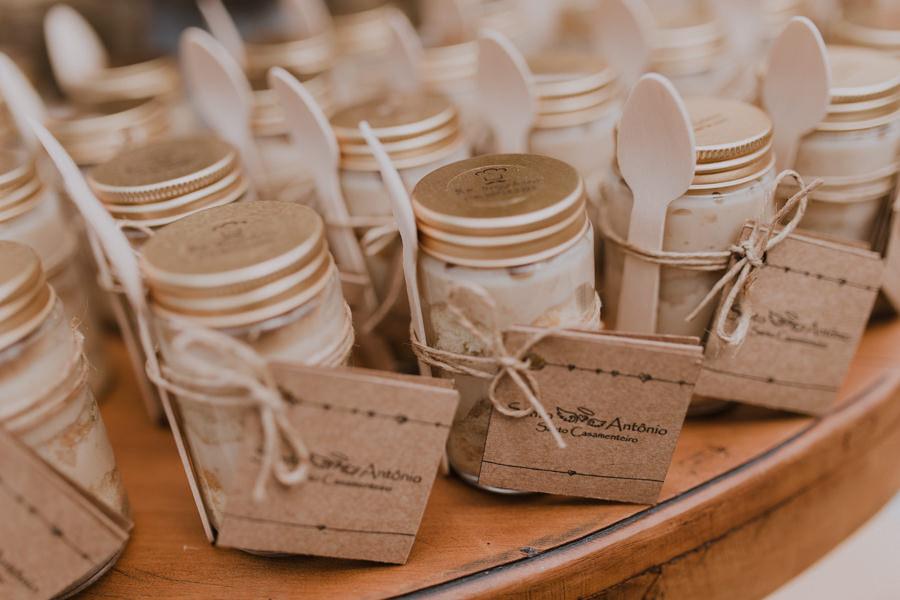Lembrancinhas de casamento: bolo de pote