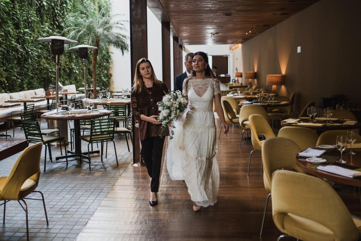 Mini wedding no restaurante Kaá | Beatriz e André