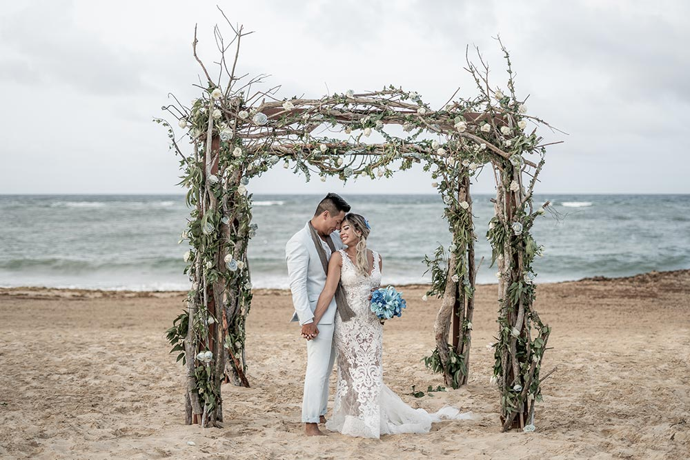 Casamento em punta cana: Juliana e Gustavo