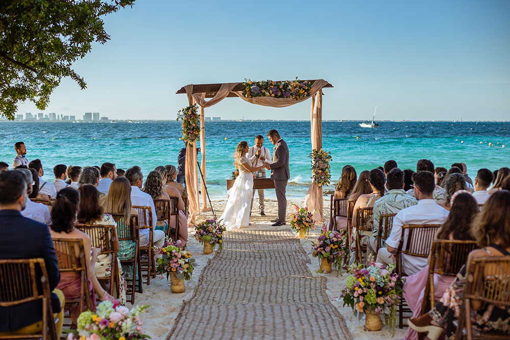 Destination Wedding em Cancun: Camila e Fagner
