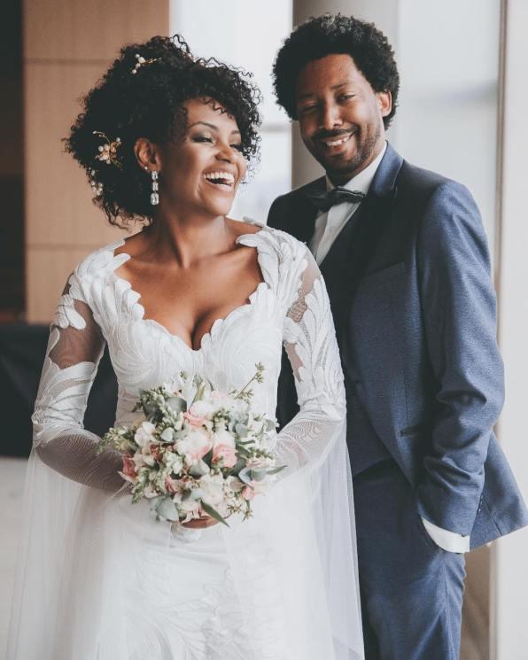 Vestido de noiva para casamento no inverno - Foto: Luiz Mazinho