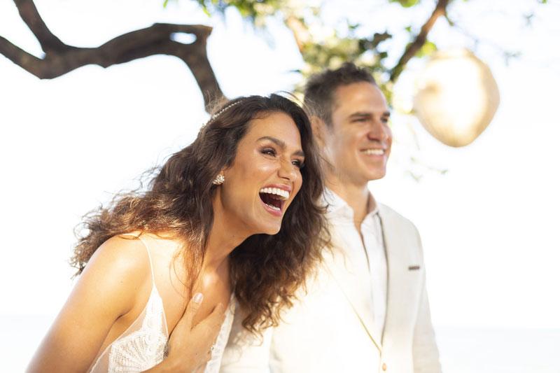 Casamento pé na areia em Caraíva