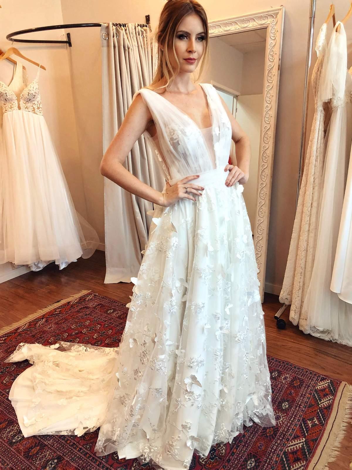 Vestido de noiva Luit