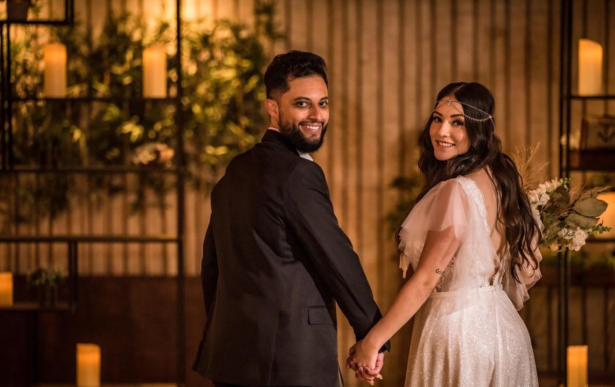 elopement wedding boho chic