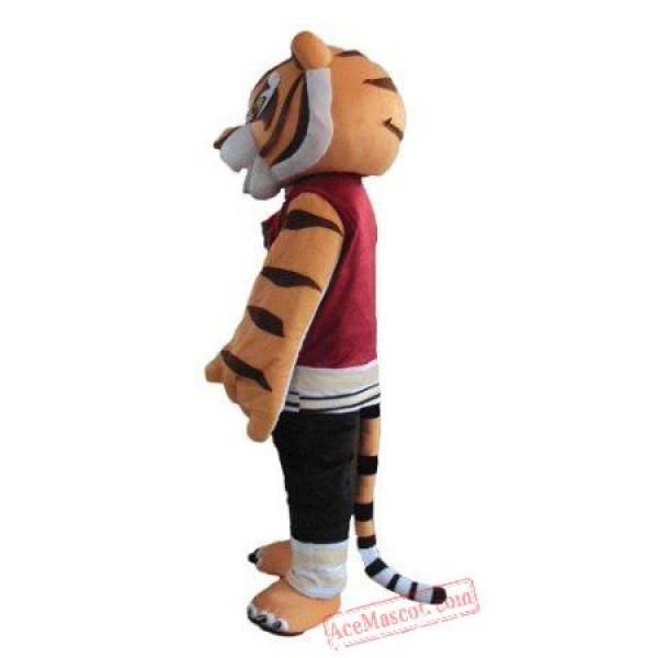 Tigress Tiger Mascot Costume Kung Fu Panda
