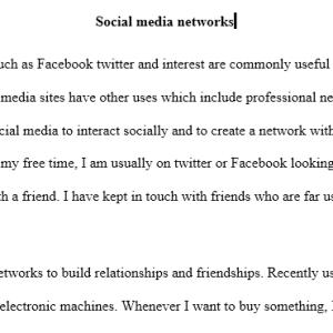 Modern social media