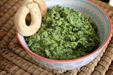 Hummus di cavolo nero