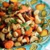 Sedano rapa e carote al forno
