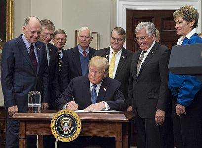 Presidential Space Directive - 1 Signing