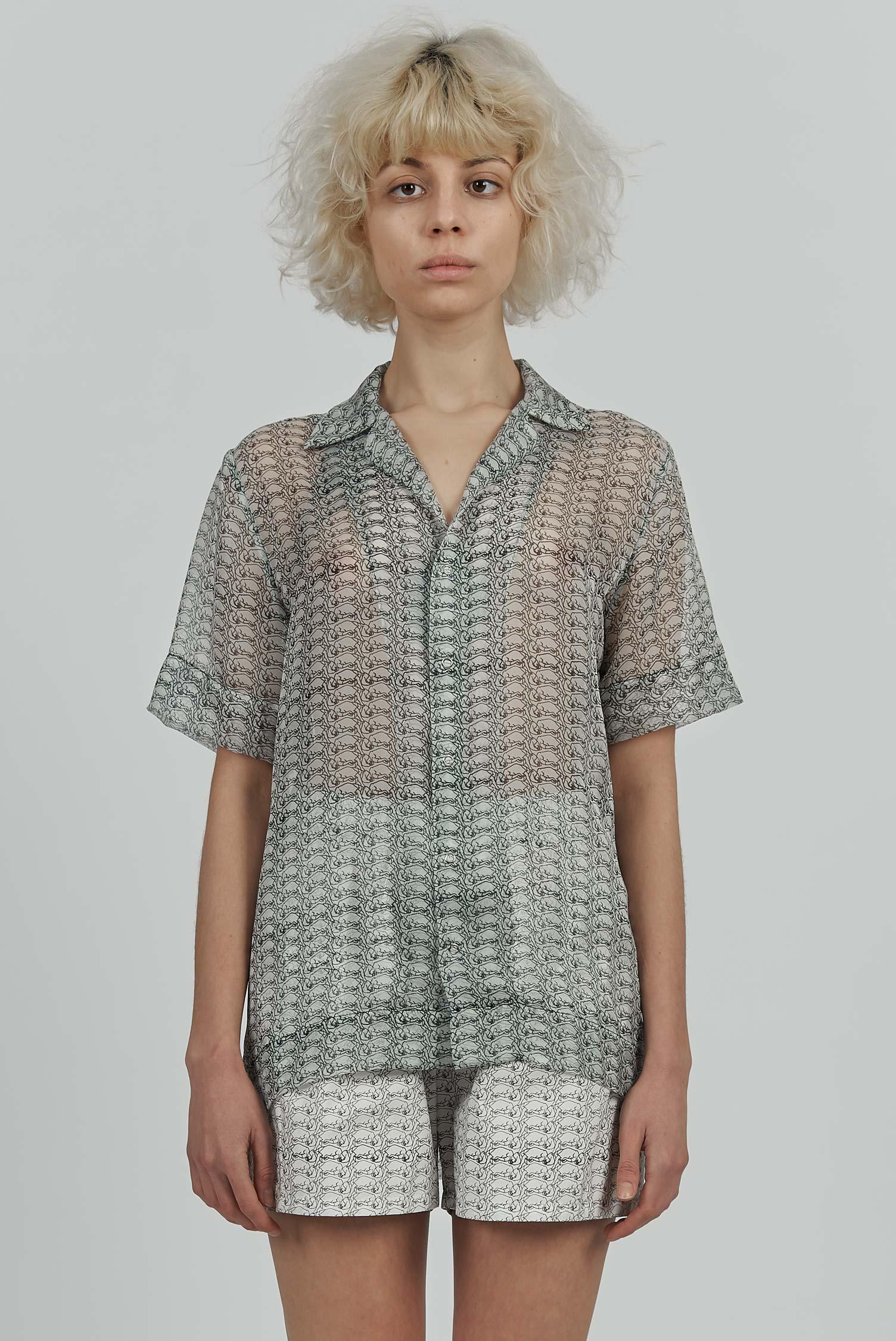 Acephala Hysteria Pyjamas Print Chiffon Front Crop