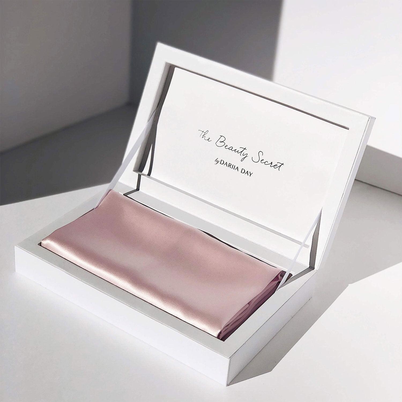 Acs Silk Pillowcase Jedwabna Poszewka Bydariiaday Pink Rozowa Box