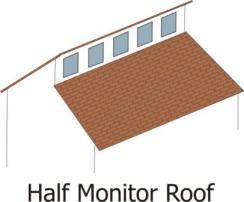 Clerestory - Half monitor comp
