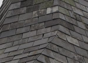 Mitigation - gaps between slate tiles