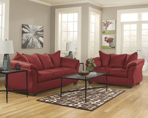 ACE Rent To Own  Ashley Furniture Salsa Darcy Sofa   Loveseat   Rent     Darcy Sofa   Loveseat
