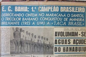 F 04 - 1959 - Bahia primeiro campeão brasileiro