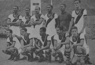1948 - Vasco x Botafogo - vice campeão  carioca