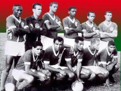 F 03 - time do Palmeiras em 1964