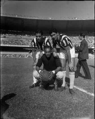Esporte - Futebol - Botafogo x Flamengo, 5 negativos 4x5 polegadas PB acetato