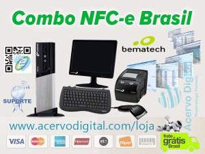 Combo Bematech NFC-e Brasil
