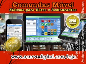 comanda móvel sistema para bares e restaurantes