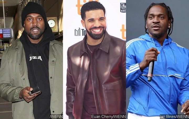 Kanye West Reaches Out to Drake's Mentor to End Pusha T Feud