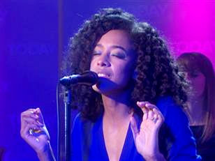 Corinne Bailey Rae Showcasing New Song Live