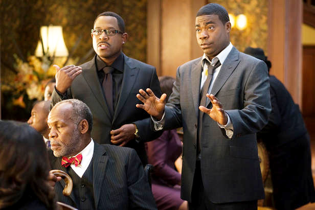 Danny Glover, Martin Lawrence and Tracy Morgan in Screen Gems' Death at a Funeral (2010)