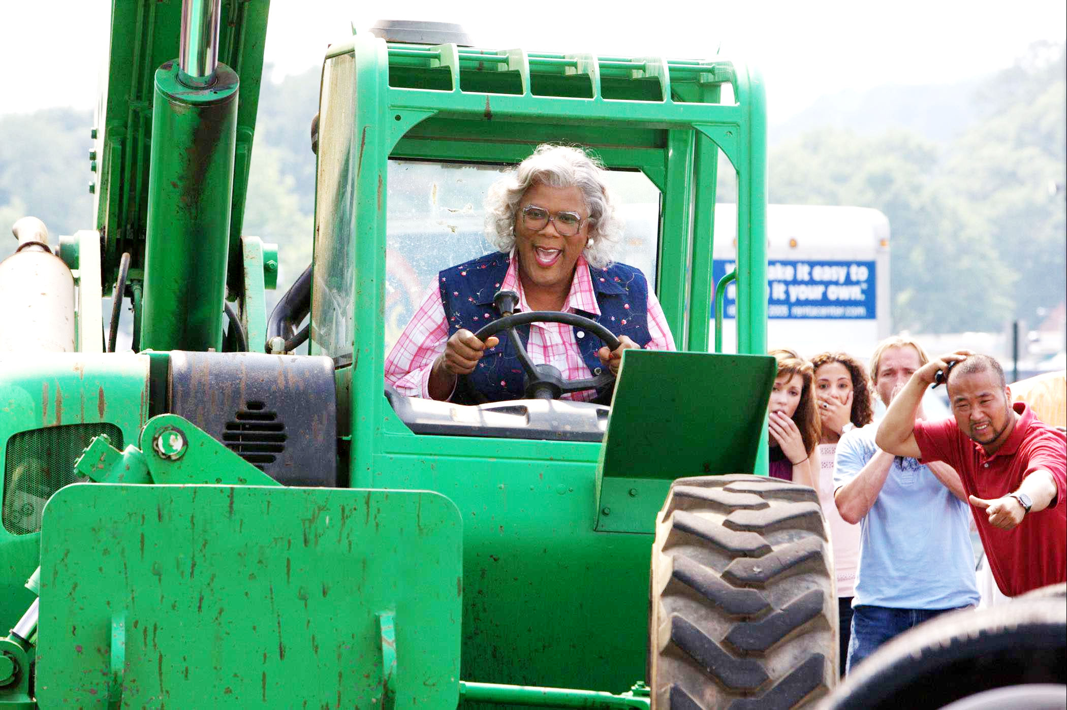 Tyler Perry, en una escena de Madeas goes to jail.
