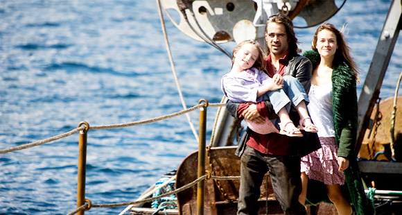 Alison  Barry, Colin Farrell and Alicja Bachleda in Magnolia Pictures' Ondine  (2010)