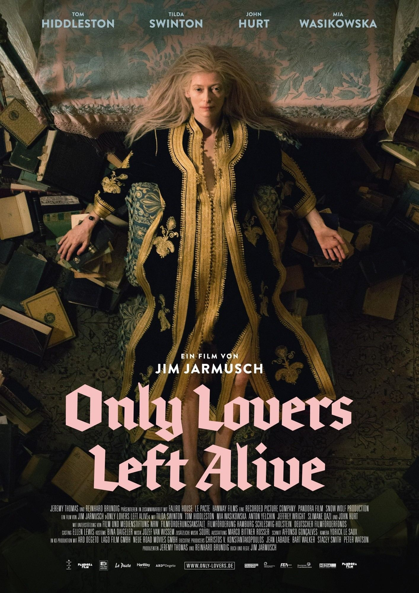 Image result for ONLY LOVERS LEFT ALIVE (2014)